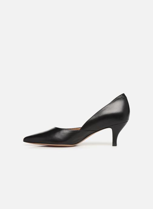 Zapatos de tacón Perlato 10974 Negro vista de frente
