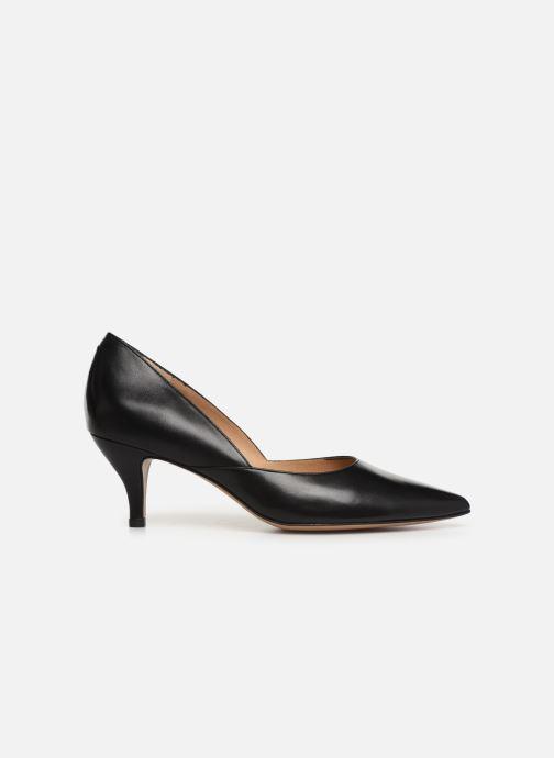 High heels Perlato 10974 Black back view