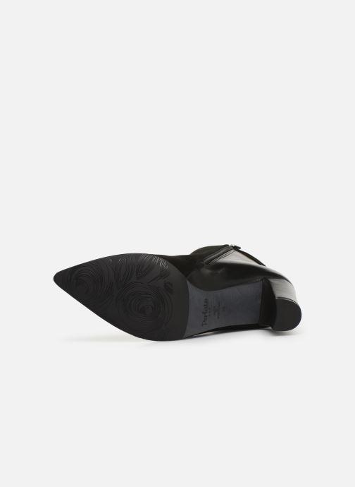 Botines  Perlato 11336 Negro vista de arriba
