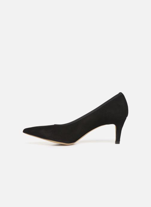 Zapatos de tacón Perlato 9330 Negro vista de frente