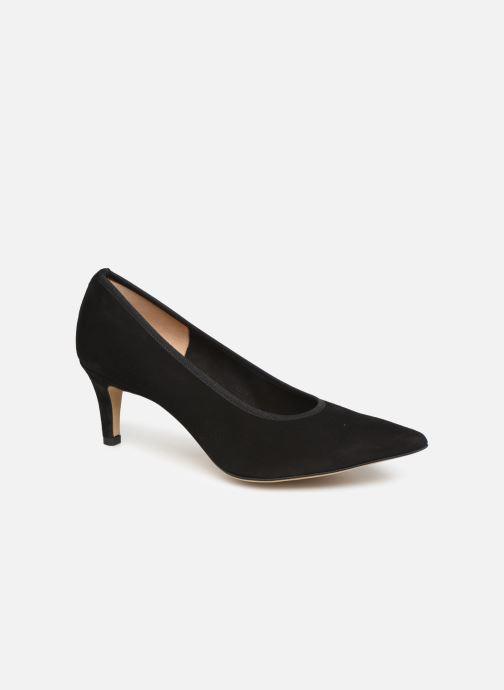 High heels Perlato 9330 Black detailed view/ Pair view