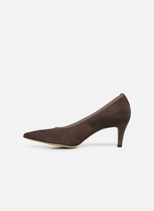 High heels Perlato 9330 Brown front view
