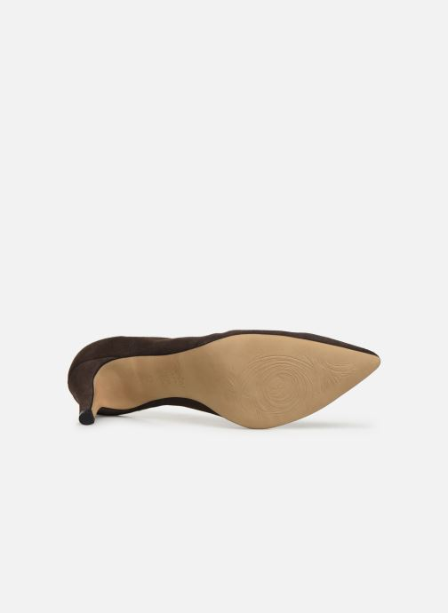 High heels Perlato 9330 Brown view from above