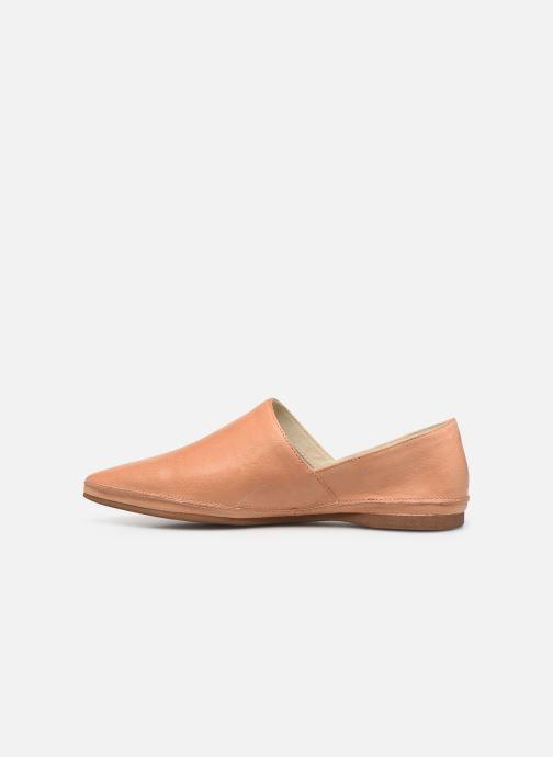 Mocassins Vagabond Shoemakers Antonia 4313-001 Beige vue face