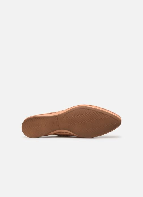 Loafers Vagabond Shoemakers Antonia 4313-001 Beige view from above