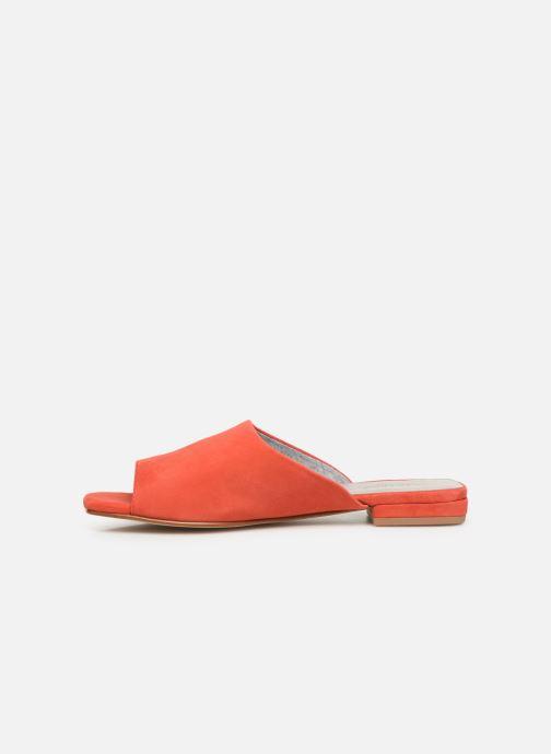 Zuecos Vagabond Shoemakers Becky 4508-040 Naranja vista de frente