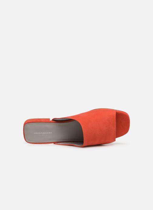 Zuecos Vagabond Shoemakers Becky 4508-040 Naranja vista lateral izquierda
