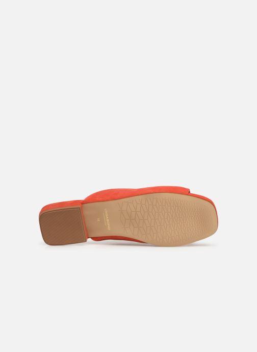 Zuecos Vagabond Shoemakers Becky 4508-040 Naranja vista de arriba