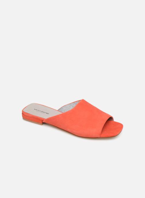 Zuecos Vagabond Shoemakers Becky 4508-040 Naranja vista de detalle / par