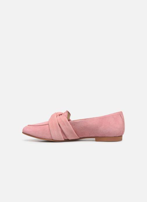 Mocassins Vagabond Shoemakers Eliza 4518-240 Rose vue face