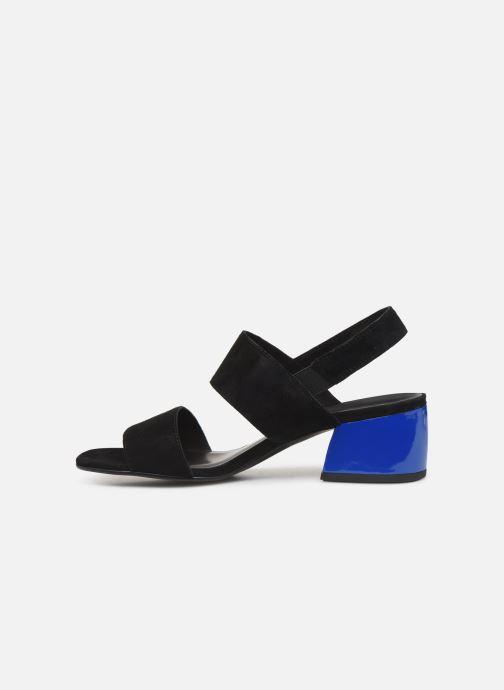 Sandales et nu-pieds Vagabond Shoemakers Saide 4535-240 Noir vue face