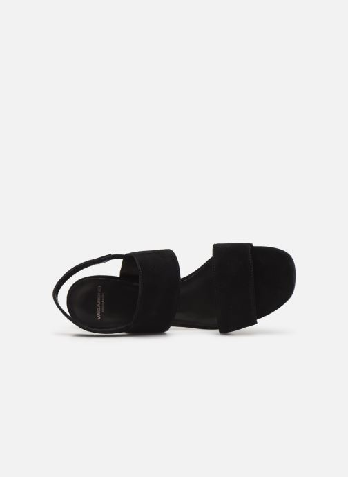 Sandalias Vagabond Shoemakers Saide 4535-240 Negro vista lateral izquierda