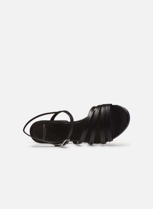 Sandales et nu-pieds Vagabond Shoemakers Cherie 4539-001 Noir vue gauche