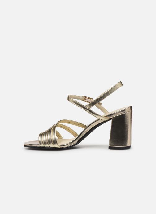 Sandalias Vagabond Shoemakers Cherie 4539-083 Oro y bronce vista de frente