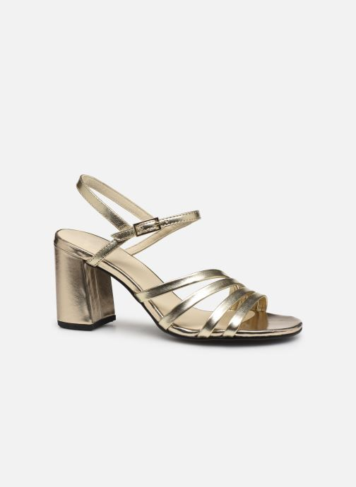 Sandals Vagabond Shoemakers Cherie 4539-083 Bronze and Gold back view