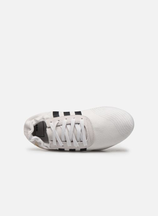 Baskets adidas originals Taekwondo Team W Blanc vue gauche