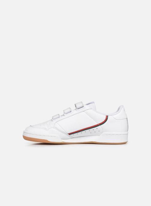 Deportivas adidas originals Continental 80 Strap Blanco vista de frente