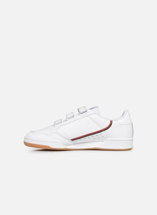 Sneakers adidas originals Continental 80 Strap Bianco immagine frontale