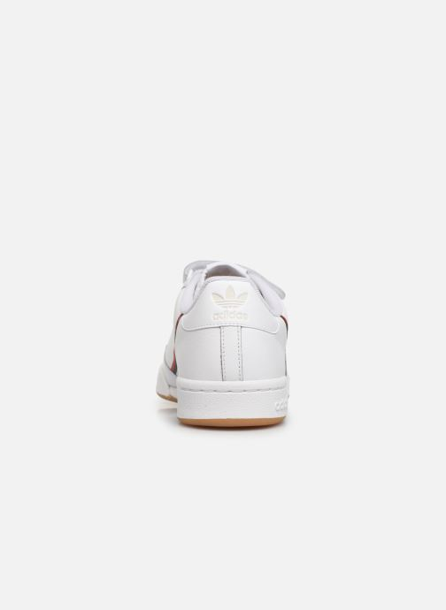 Sneakers adidas originals Continental 80 Strap Wit rechts