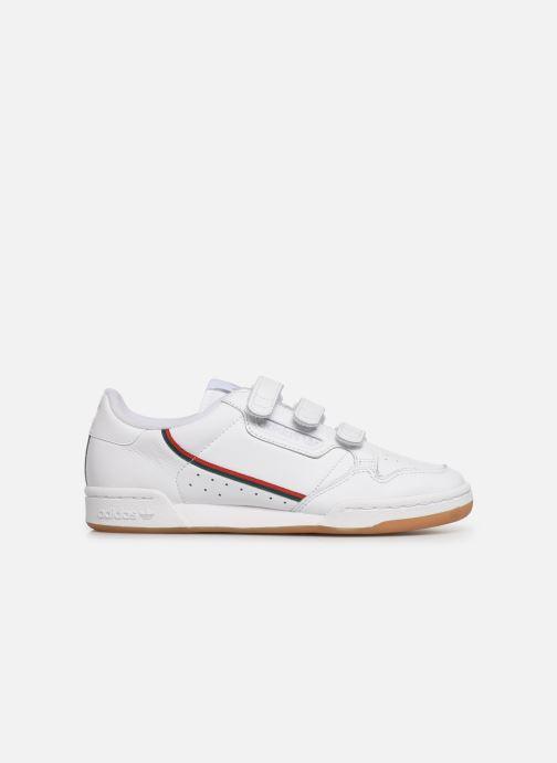 Baskets adidas originals Continental 80 Strap Blanc vue derrière
