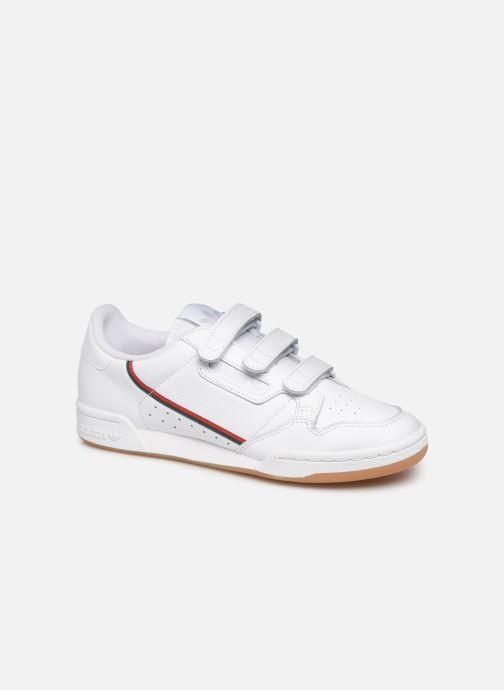 Baskets adidas originals Continental 80 Strap Blanc vue détail/paire