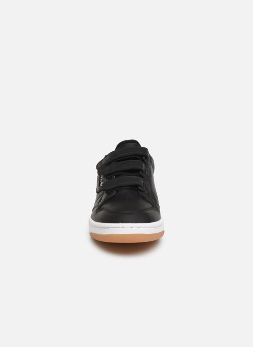 Baskets adidas originals Continental 80 Strap Noir vue portées chaussures