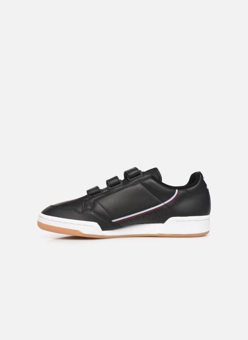 Sneakers adidas originals Continental 80 Strap Sort se forfra
