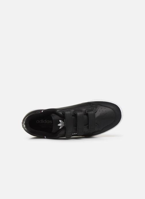 Sneakers adidas originals Continental 80 Strap Sort se fra venstre