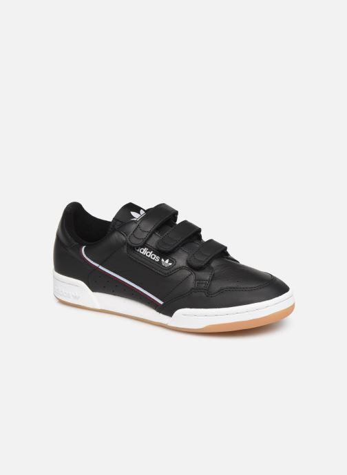 Baskets adidas originals Continental 80 Strap Noir vue détail/paire