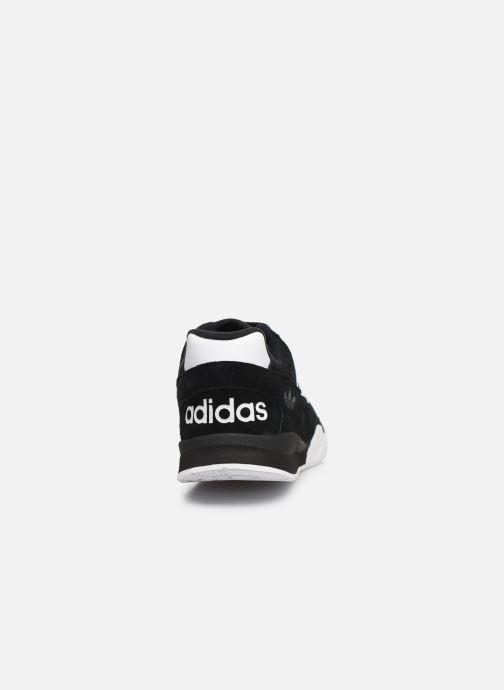Baskets adidas originals A.R. Trainer M Noir vue droite