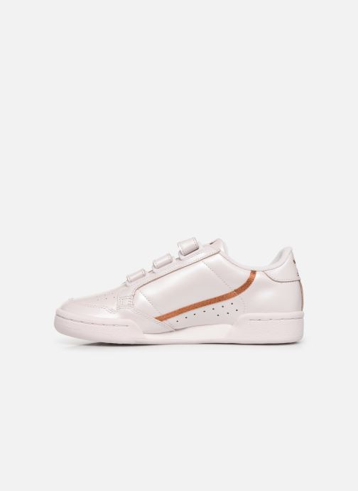 Sneakers adidas originals Continental 80 Strap W Roze voorkant
