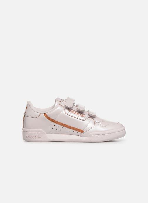 Baskets adidas originals Continental 80 Strap W Rose vue derrière
