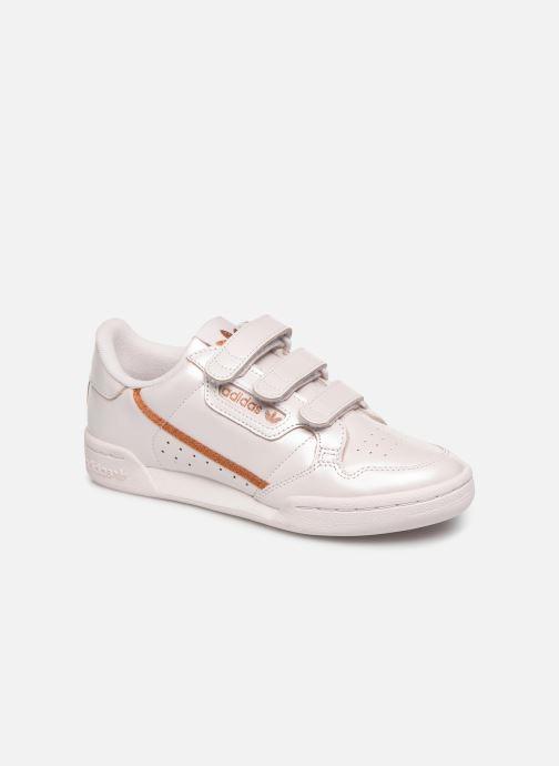 Baskets adidas originals Continental 80 Strap W Rose vue détail/paire