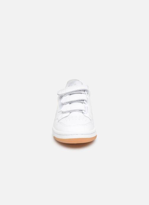 Baskets adidas originals Continental 80 Strap W Blanc vue portées chaussures