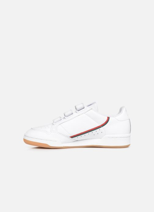 Sneakers adidas originals Continental 80 Strap W Wit voorkant
