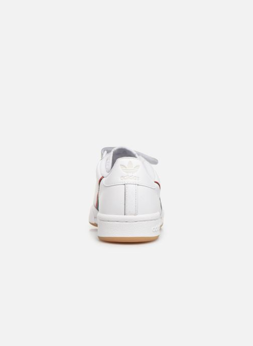 Sneakers adidas originals Continental 80 Strap W Wit rechts