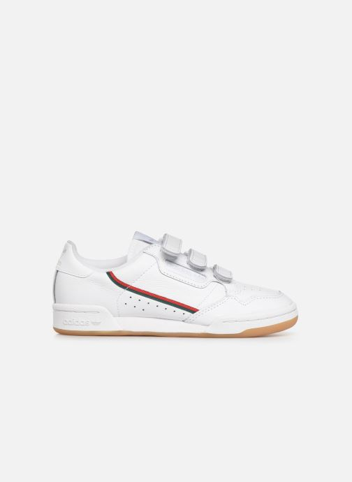 Sneakers adidas originals Continental 80 Strap W Wit achterkant