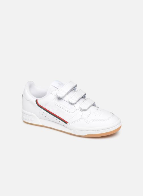 Baskets adidas originals Continental 80 Strap W Blanc vue détail/paire