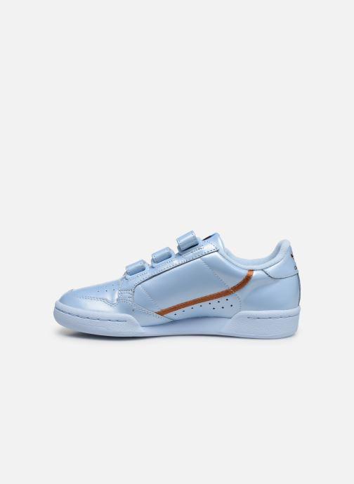 adidas originals Continental 80 Strap W (Bleu) - Baskets ...