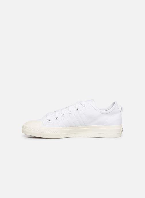 Sneakers adidas originals Nizza RF W Wit voorkant