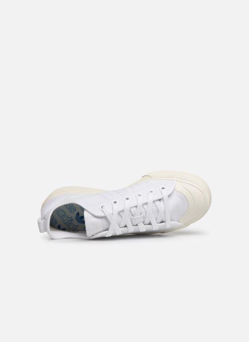 Baskets adidas originals Nizza RF W Blanc vue gauche