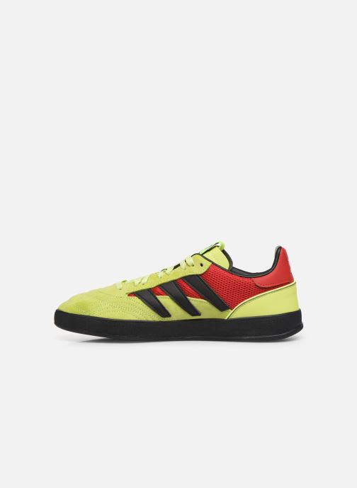 Baskets adidas originals Sobakov P94 Jaune vue face