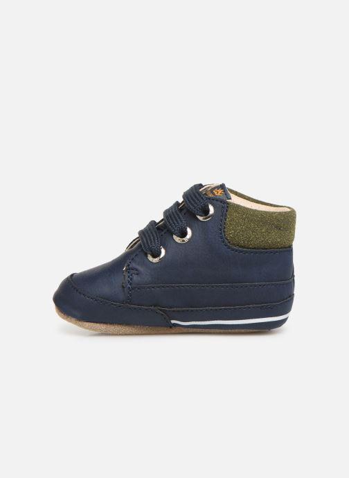 Pantuflas Shoesme Jaap Azul vista de frente