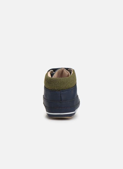 Chaussons Shoesme Jaap Bleu vue droite