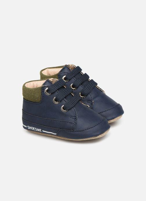 Chaussons Shoesme Jaap Bleu vue détail/paire