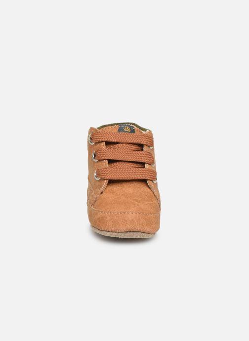 Chaussons Shoesme Jaap Marron vue portées chaussures