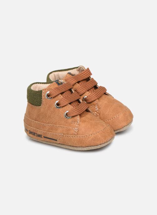 Chaussons Shoesme Jaap Marron vue détail/paire