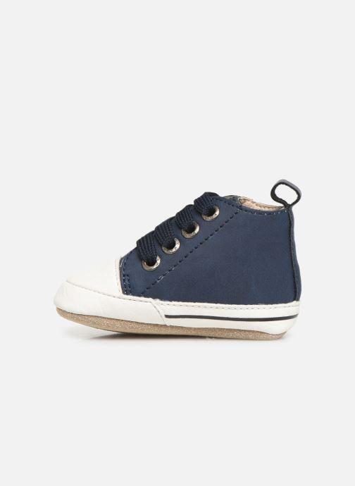 Pantofole Shoesme Johan Azzurro immagine frontale