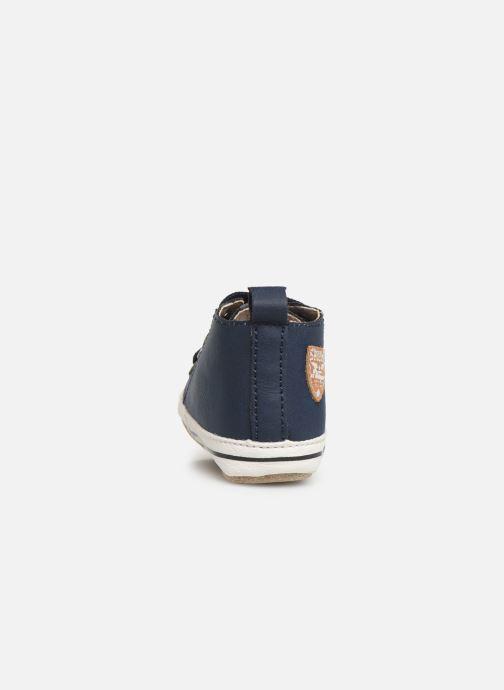 Pantofole Shoesme Johan Azzurro immagine destra
