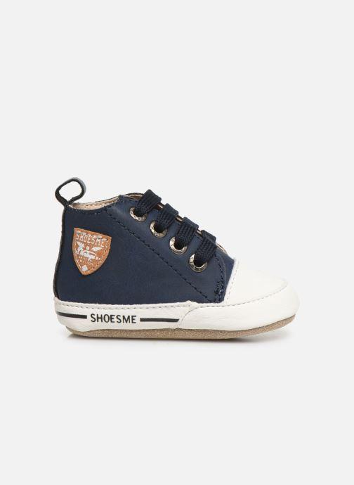Pantofole Shoesme Johan Azzurro immagine posteriore